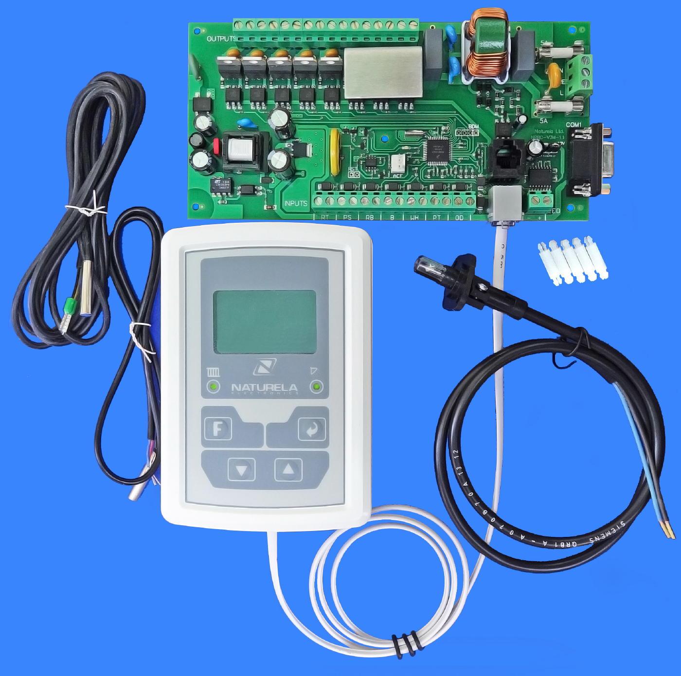 NPBC V3M Electronic Pellet Burner Controller #0450C7